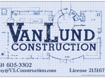 Construction Logo + Business Card typography vector illustration logo branding design