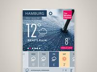 Weather app Zoom In