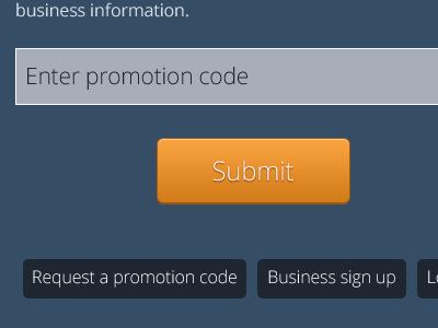 Web App web app design photoshop orange blue button