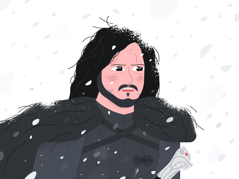 Jon Snow winter lord north bastard king stark targaryen mishax sword game game of thrones jon snow