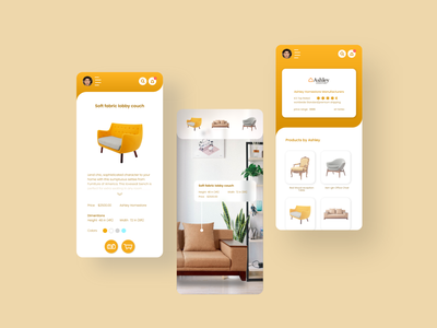 Attic Mobile App UI Design branding icon vector typography website web app ux ui design