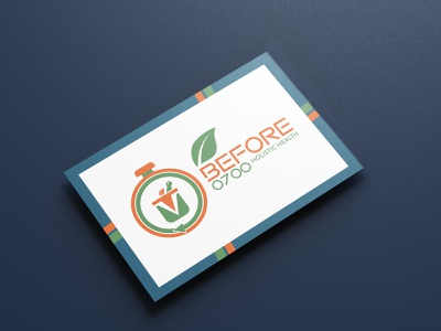 Brand Collateral: Before 0700 Business Cards naturopath design illustration health and wellness graphic design brand strategy branding brand identity brand development