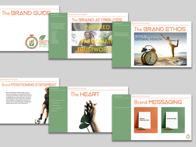 Brand Guide: Before 0700 Holistic Health vector logo design illustration graphic design brand strategy branding brand identity brand development
