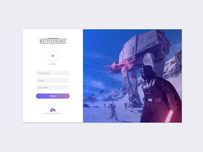 Star Wars Battlefront - Sign Up