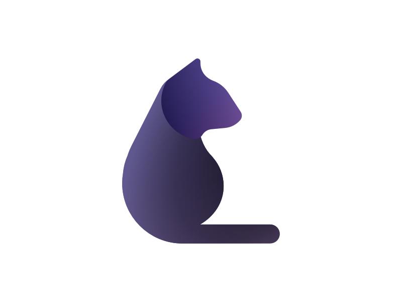 cat logo by emperatriz orteg243n g dribbble