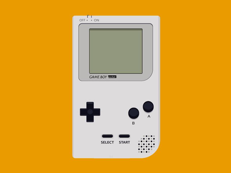 Game Boy Pocket by Emperatriz Ortegón G  on Dribbble