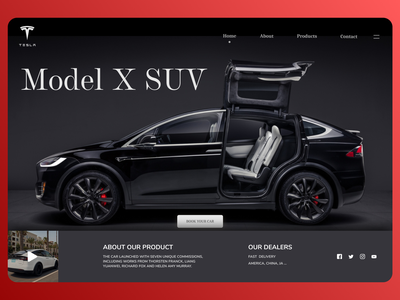 Online Cars uidesign minimal modern typography ui design new web ux ui design