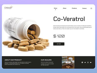 Medicine Web Design uiux uidesign branding typography ui design new web ux ui design