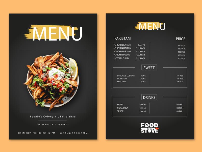 Restaurant Menu Design 2020 buisness design branding design restaurant branding branding logo menu design menu card food menu restaurant