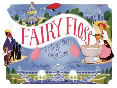 Fairy Floss lettering illustration