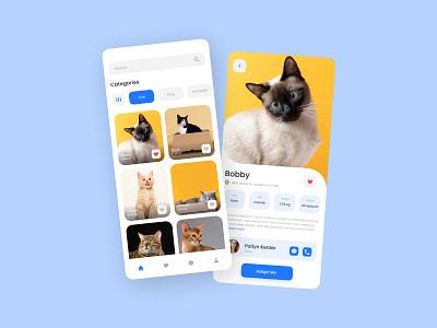 Pet Adoption App Concept uiux uidesign mobile adoption pet ui