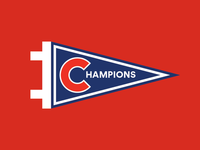WORLD SERIES CHAMPIONS!!! go cubs go cubs fly the w chicago illustration world series sports baseball chicago cubs