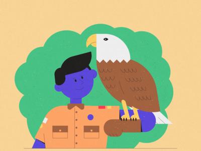 Inktober 17 - Bird