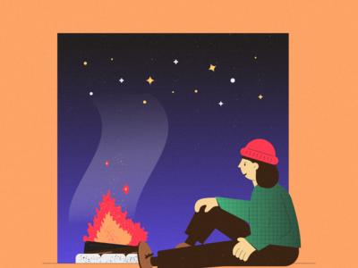 Inktober 21 - Flame