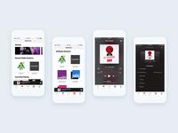 Radio Broadcast App Design & Prototype