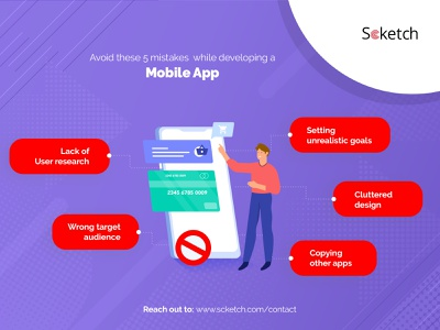 5 Mistakes to Avoid When Developing a Mobile App android app development ios app development mobile app development mobile app design app development mobile app
