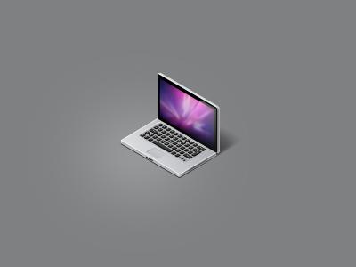 my precious macbook isometric icon