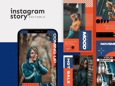 Instagram Story Template design instagram templates instagram template instagram stories template ux ui