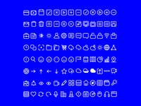 More Icons / P—W
