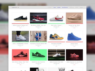 hypestat.us hypebeast blog shoes sneakers website web design