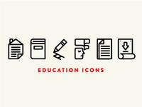 Classroom Icon Set