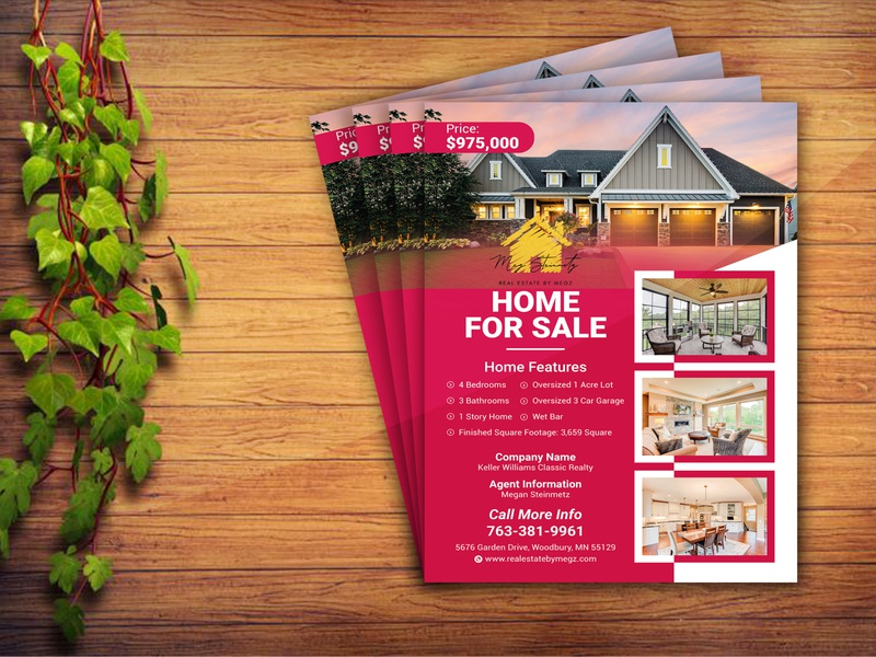 CLIENT PROJECT - Home Sale Flyer flyers flyerdesigns dribbble best shot design flyer template flyer artwork flyerdesign design ideas flyer design ideas corporate flyer design corporate flyer