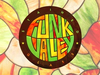 Funk Valley Stained Glass Branding