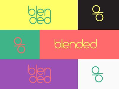 Blended vector design brand illustration logo branding
