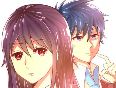 Love Twist Thumbnail - White BG webtoon artwork art anime drawing design illustration