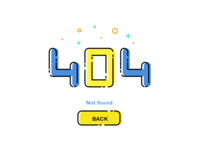 404 page - Daily UI challenge