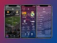 Football Team App UI