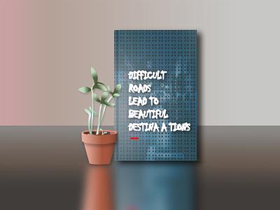 Germination seedlings pot With Book Cover Design branding design vector graphic design illustrator illustration