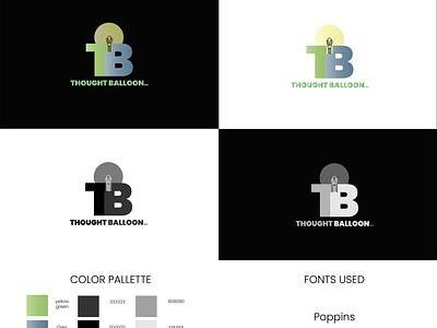 Thought balloon vector branding design adobe photoshop graphic design logos adobe illustrator digital illustration digitalart logotype logo design