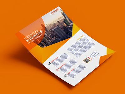 Creative Business Flyer creative design logodesign company flyer modern design grapic design flyer design creative business flyer flyer