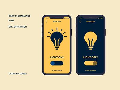 Daily UI Challenge #015 switch dailyui 015 dailyuichallenge dailyui
