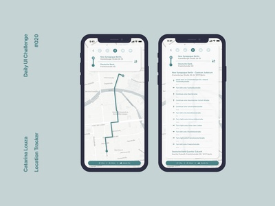 Daily UI Challenge #020 app ui location tracker dailyui 020 dailyuichallenge dailyui