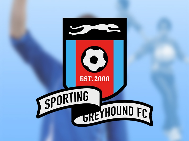 Sporting Greyhound Logo logo design illustration