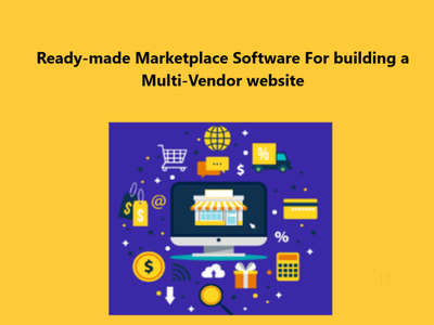 Readymade Marketplace Software For a Multi-Vendor website readymade marketplace software multivendor marketplace marketplace