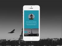 TOD (Trip on demand) - uberlike Mobile app - Order waiting page