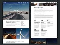 Case study - Web agency website