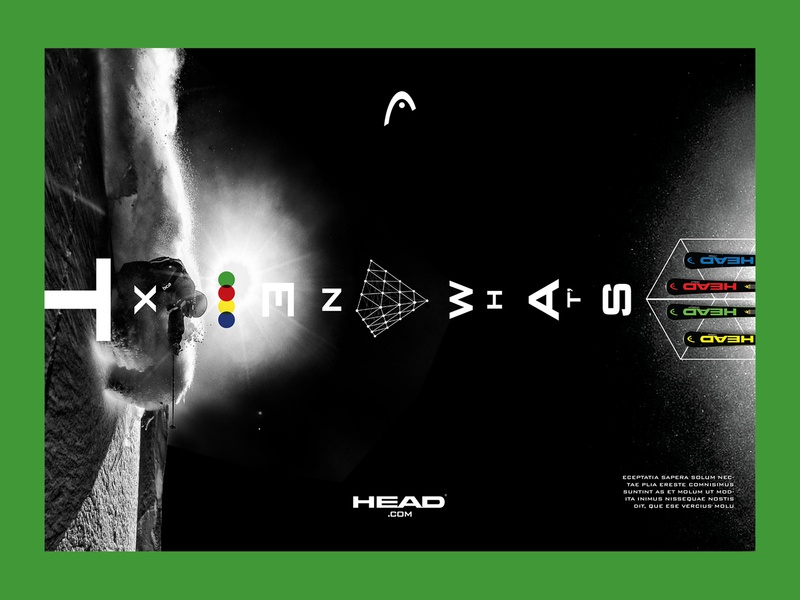 Head Campaign: Supershape graphic design design
