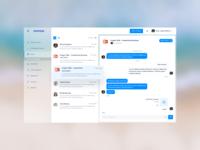 Konsus Dashboard Messaging
