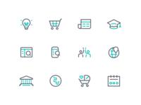 Marketing Site Iconography Exploration