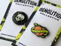 Demolition Collective Lapel Pins