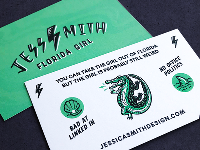 Florida Girl Business Card