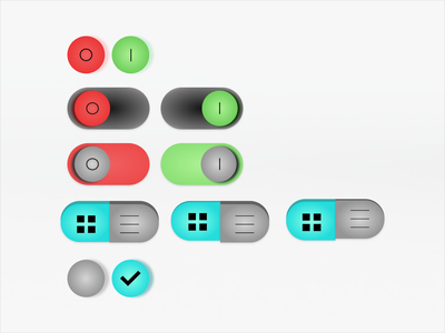 Daily UI 015- On/Off Switch ui components ui component ui interaction uidesign interaction design push button buttons toggle toggle button toggle switch on off switch onoff switch on off onoff onoffswitch daily ui 015 daily ui dailyui