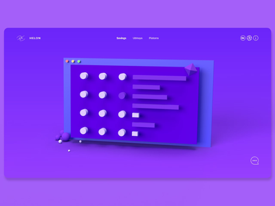 Portfolio Site | Home Page home page portfolio site web design ux design ui design adobe xd adobe dimension