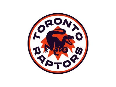 NBA Logo Redesigns: Toronto Raptors brand sports shield raptor raptors redesign logo nba basketball