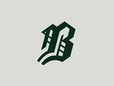 Blackletter B By Michael Weinstein