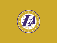 NBA Logo Redesigns Los Angeles Lakers by Michael Weinstein  Dribbble